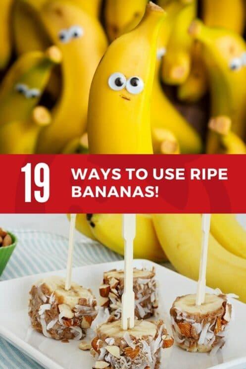 19 ways to use ripe bananas today