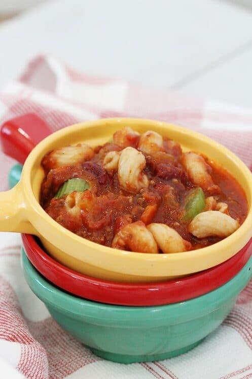 Instant Pot Pasta Fagioli