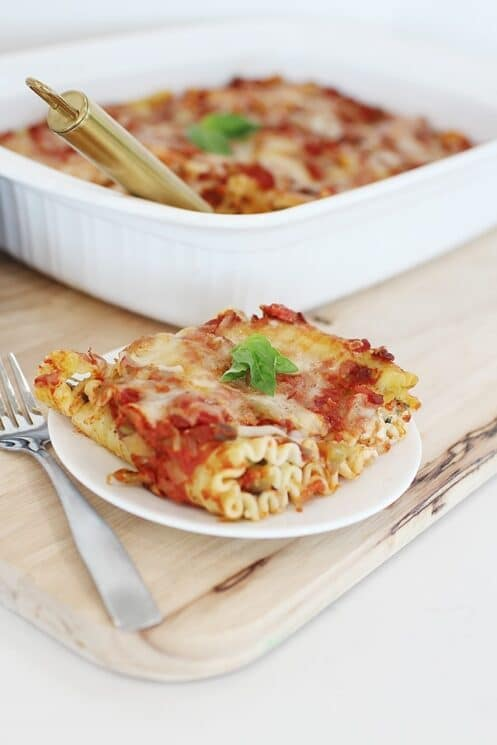 spinach lasagna with frozen spinach