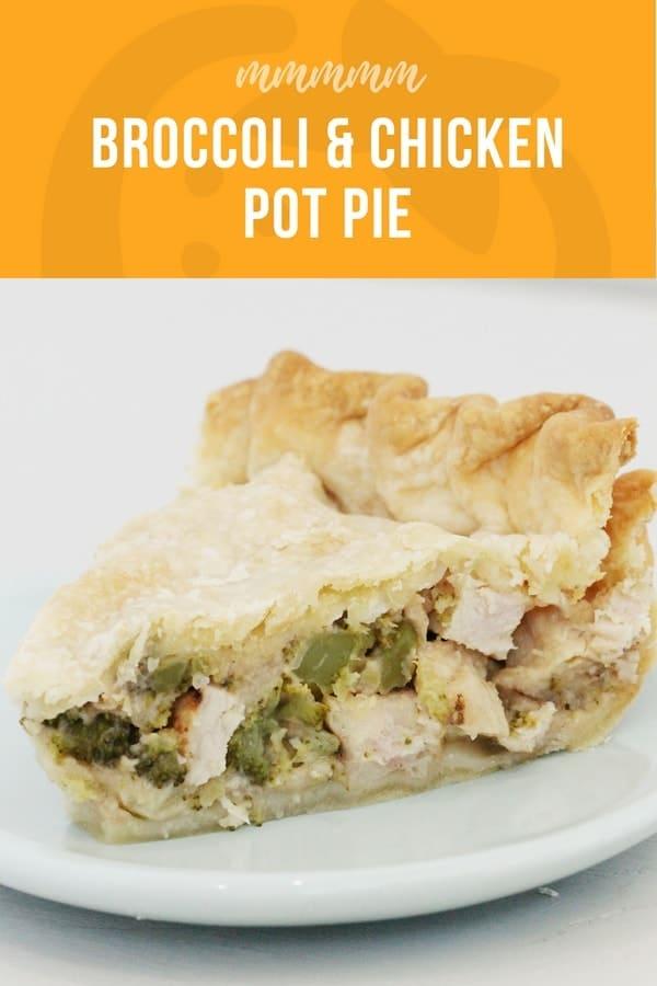 broccoli and chicken pot pie