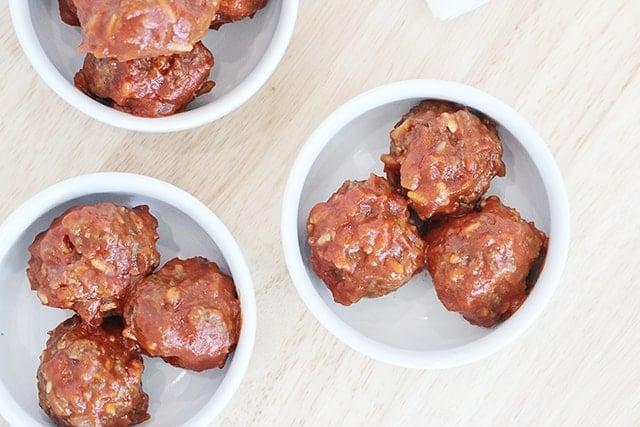 uncooked porcupine meatballs