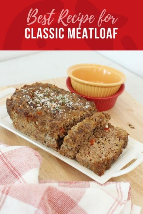 The best meatloaf recipe for classic meatloaf