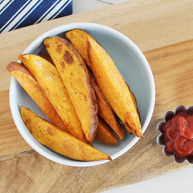 Air Fryer Sweet Potato Fries - Super Healthy Kids