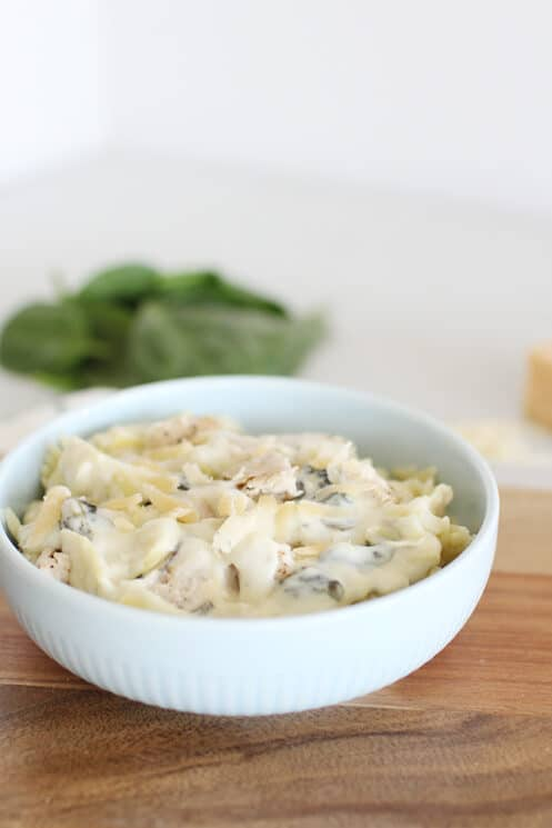 Creamy Artichoke Skillet Chicken