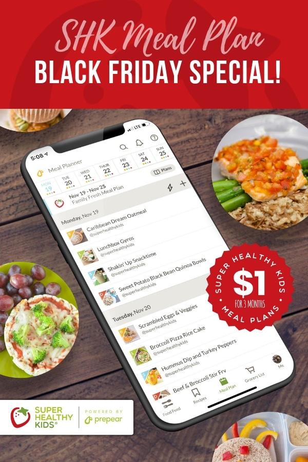 SHK Meal Plan Black Friday Deal!