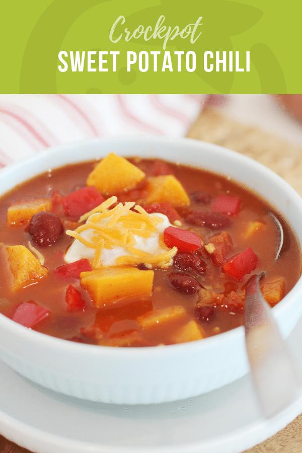 Crockpot Sweet Potato Chili | Healthy Ideas for Kids