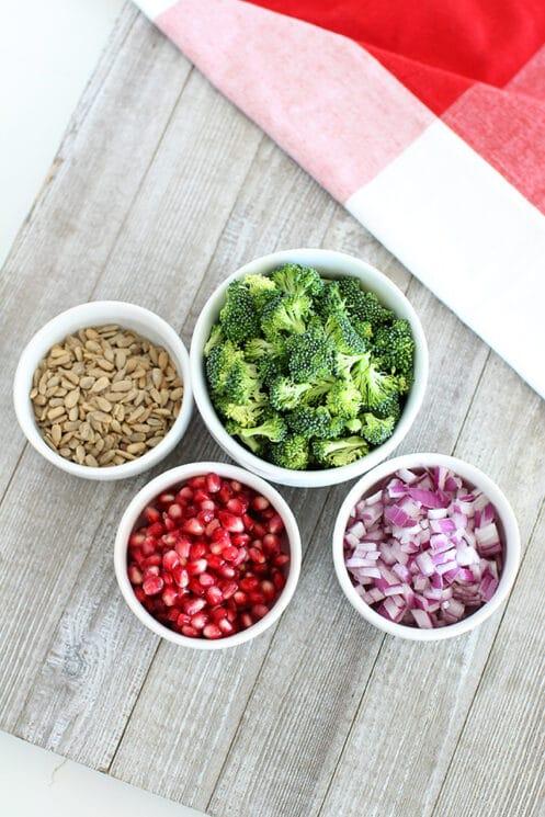 Holiday Broccoli Salad