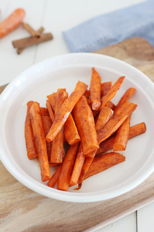 Spiced Honey Glazed Carrots