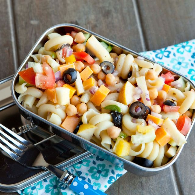 pasta salad lunch idea