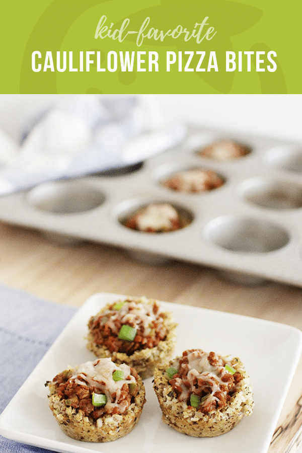 Cauliflower Pizza Bites | Healthy Ideas and Recipes for Kids