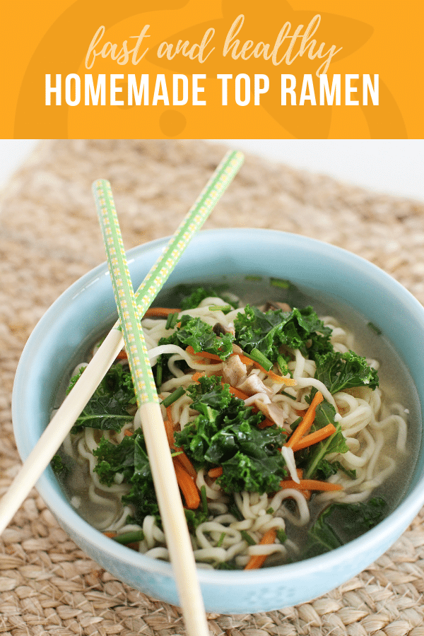 Fast and Healthy Top Ramen | Healthy Ideas and Recipes for Kids