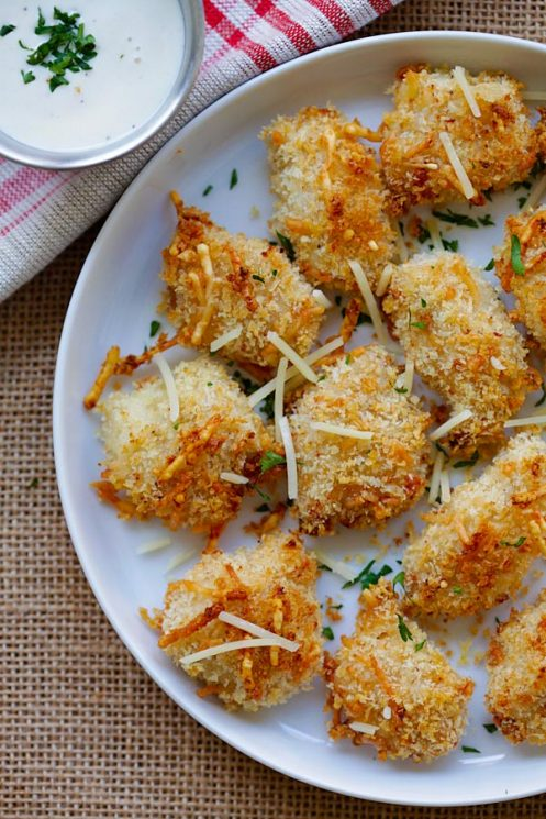 crispy baked chicken nuggets