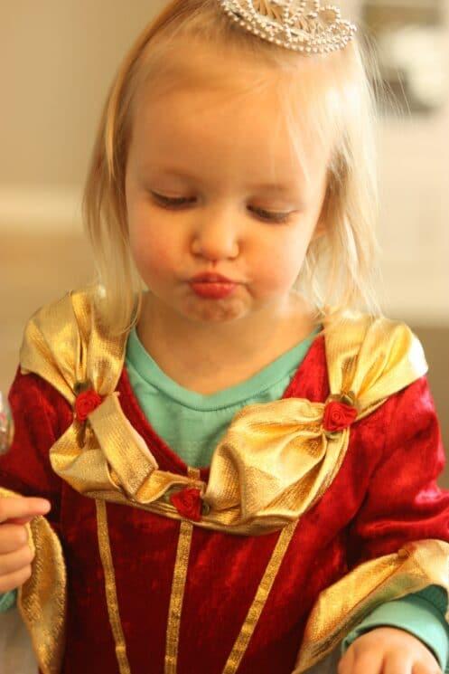 Kids love eating kiwi sorbet!