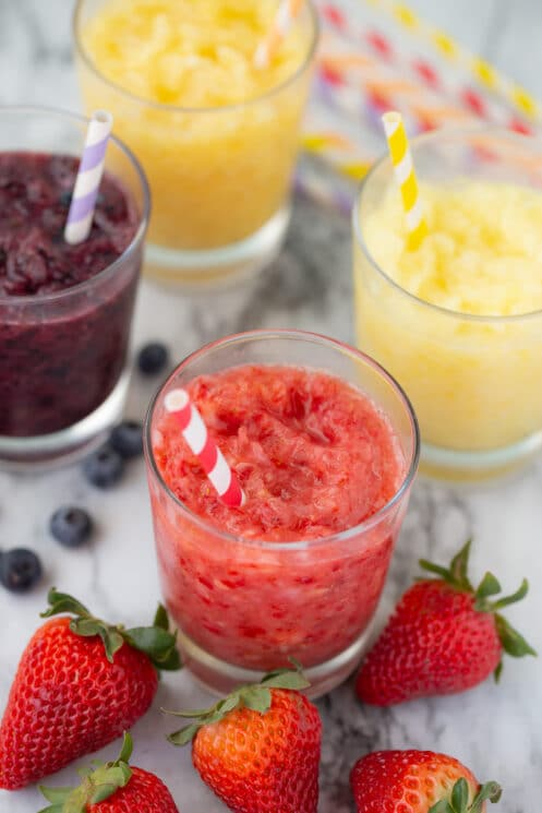 fresh fruit slushies ready to drink