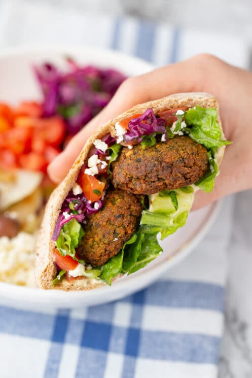 Crunchy Falafel Recipe Super Healthy Kids