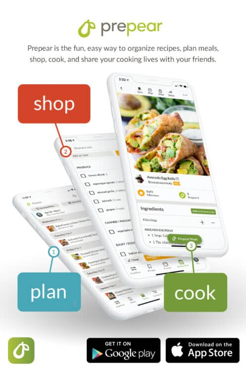 the prepear app for home cooks
