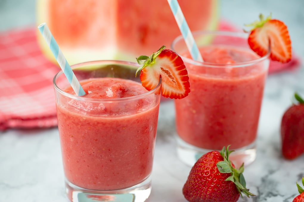 Strawberry Watermelon Smoothie Super Healthy Kids