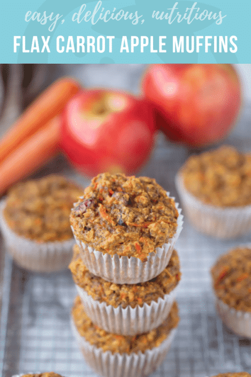 Flax Carrot Apple Muffins | Healthy Ideas and Recipes for Kids