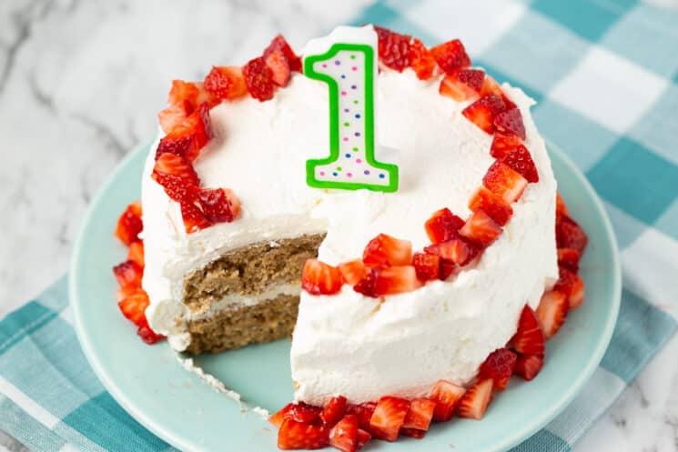 Birthday Cake Recipes For 1 Year Old Boy