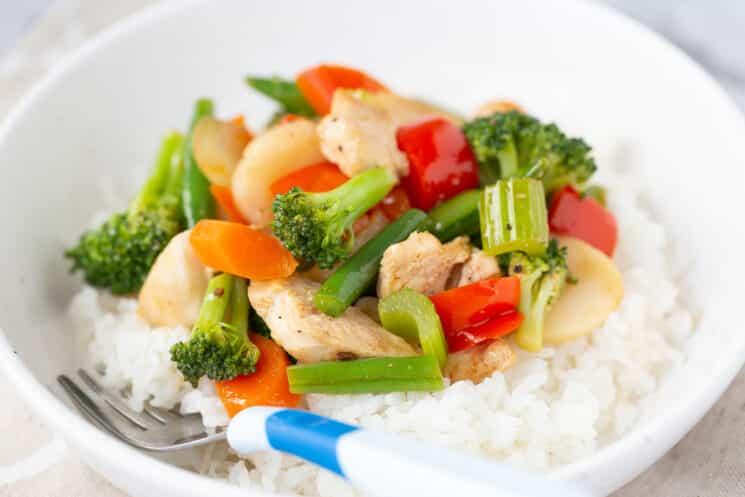asian stir fry freezer meal