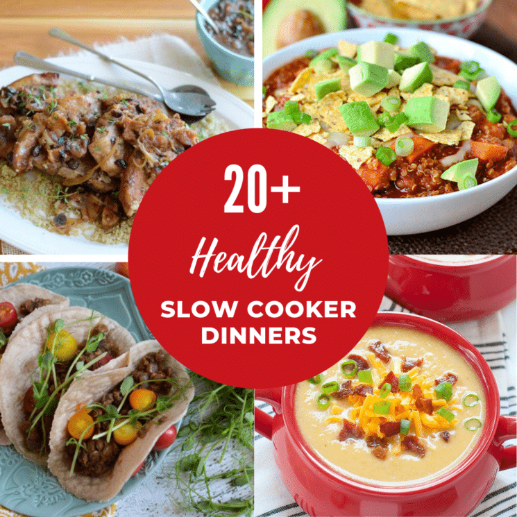 healthy slow cooker dinner ideas