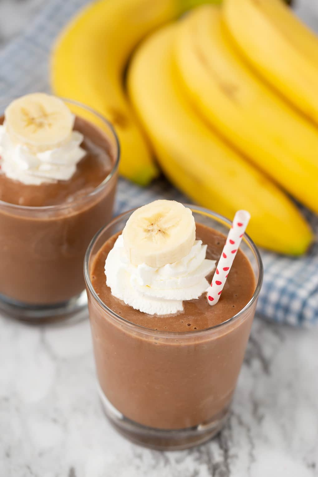 Chocolate Banana Smoothie Super Healthy Kids