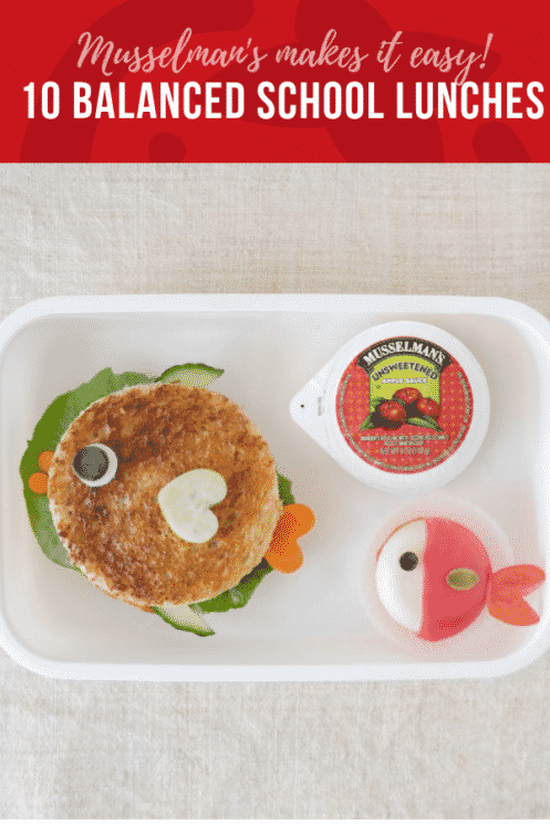 10 Balanced School Lunches with the help of Musselman's Applesauce | Healthy Ideas and Recipes for Kids | Super Healthy Kids | superhealthykids.com