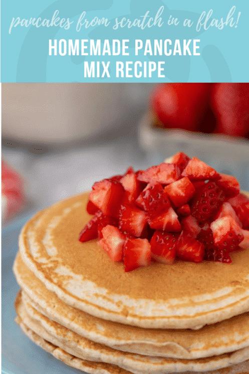 Homemade Pancake Mix Recipe | Super Healthy Kids | Healthy Ideas & Recipes for Kids | www.superhealthykids.com