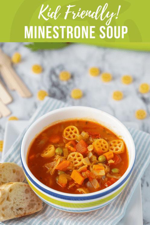 Kid Friendly Minestrone Soup Super Healthy Kids