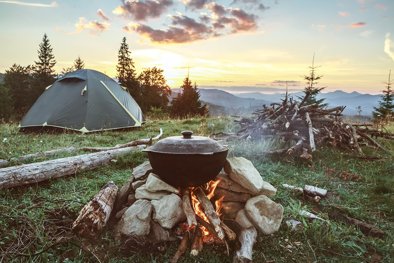 Healthy Camping Meal Plan Recipes And Shopping List Super Healthy Kids