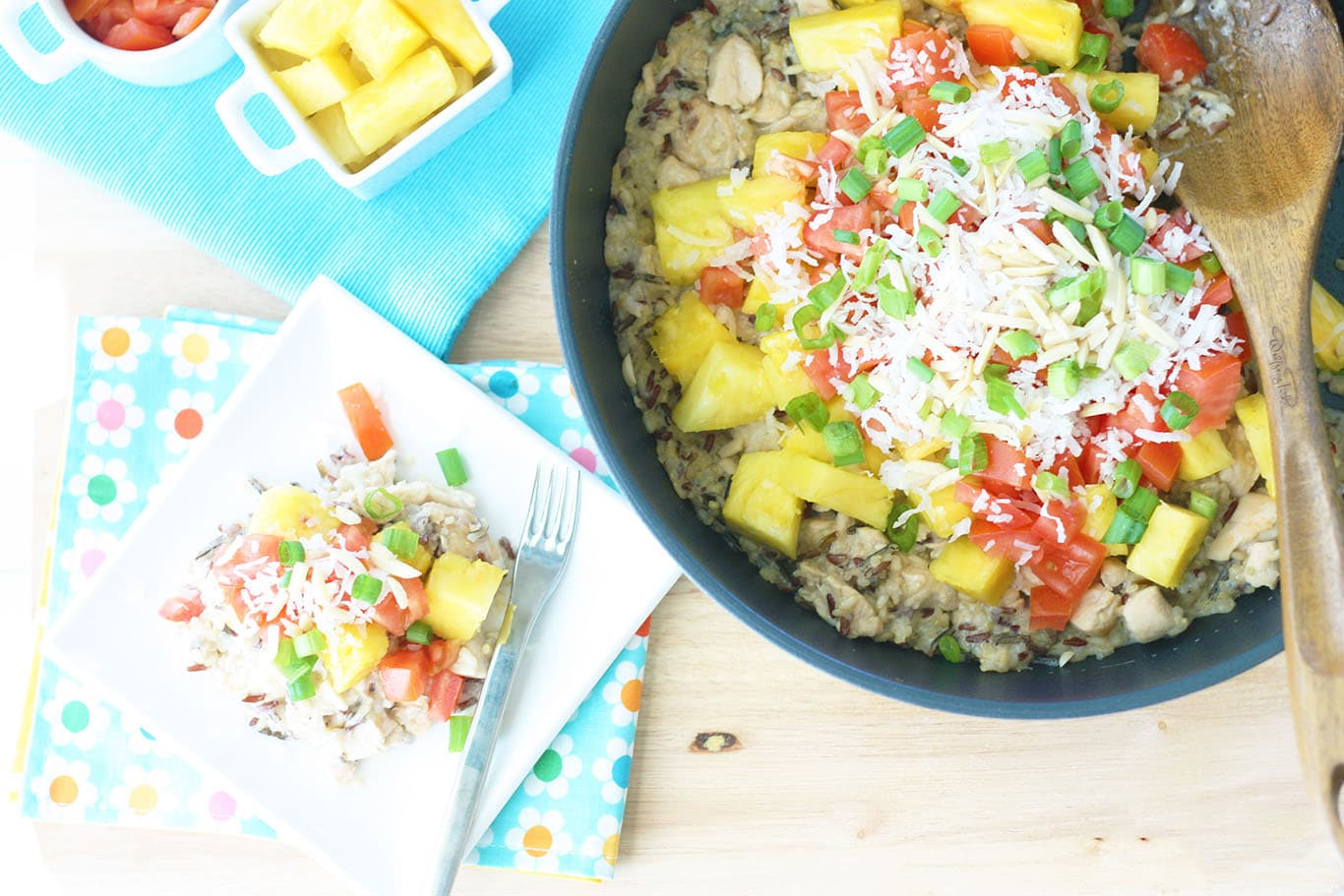Photo of Healthy Hawaiian Haystack Skillet