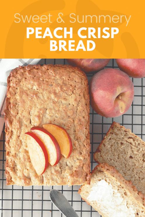 Pão crocante de pêssego - Crianças super saudáveis 5
