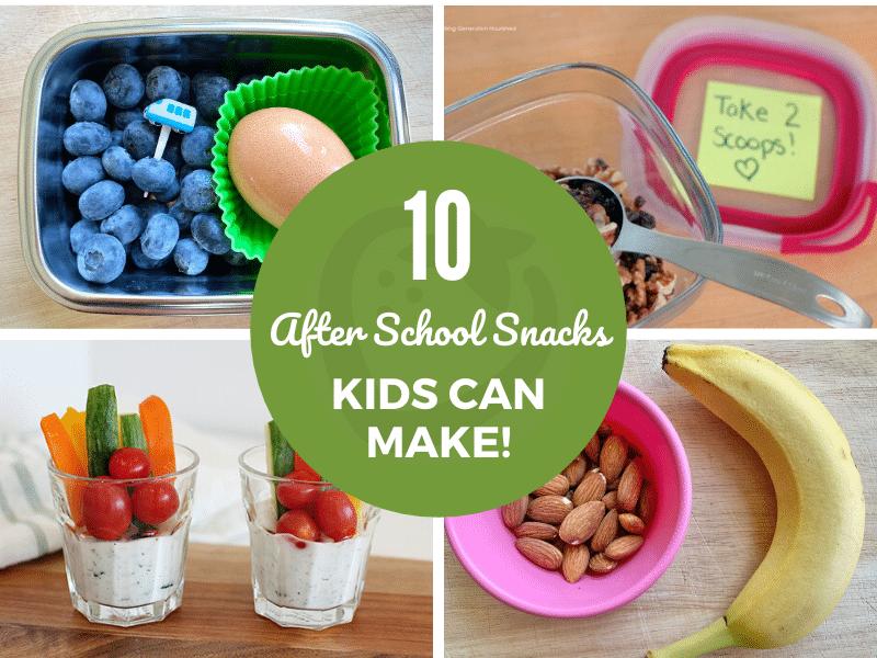 10 lanches saudáveis depois da escola As crianças podem fazer-se! 38
