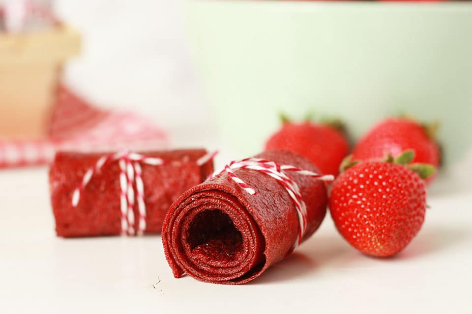 Photo of Strawberry Chia Fruit Leather