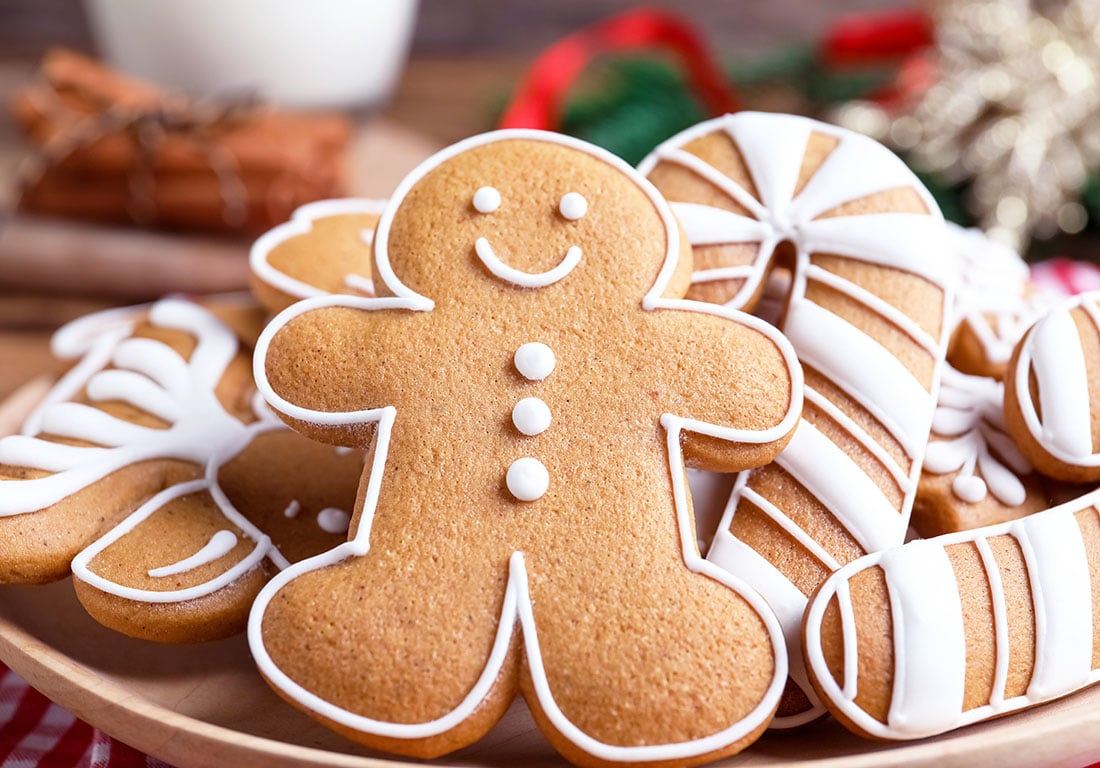 Homemade Gingerbread Cookies Super Healthy Kids