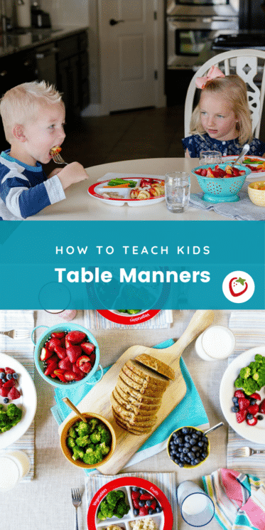 Kids table manners for Table Manners