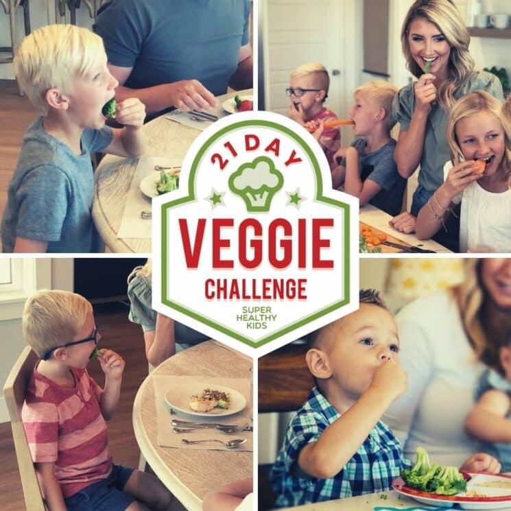 Manu Divers Healthy Diet, Healthier plane-21 Day Veggie Challenge - Super Healthy Kids