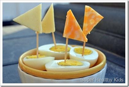 cheese sailboat