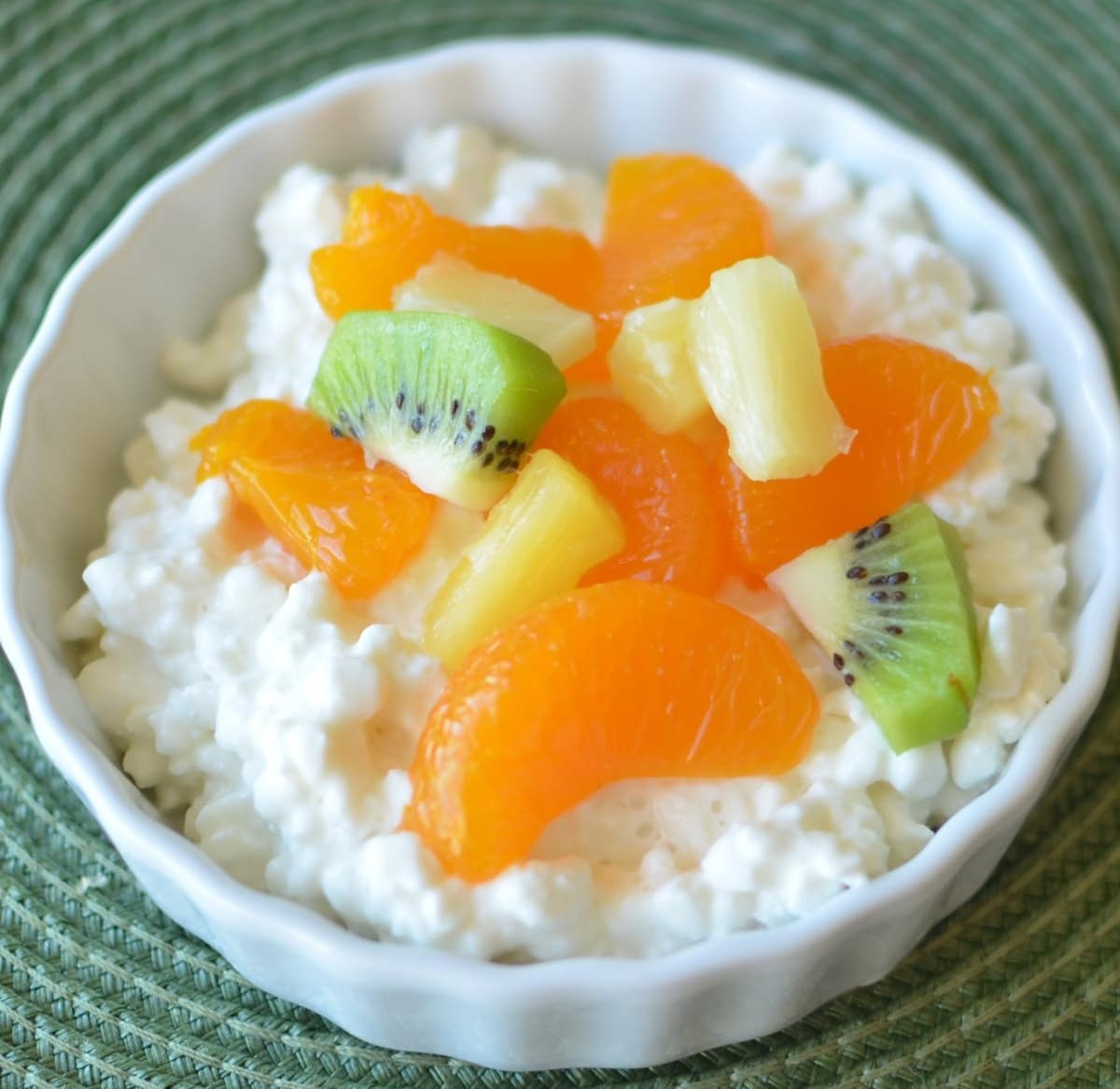 Magnificent Cottage Cheese And Mixed Fruit Download Free Architecture Designs Scobabritishbridgeorg