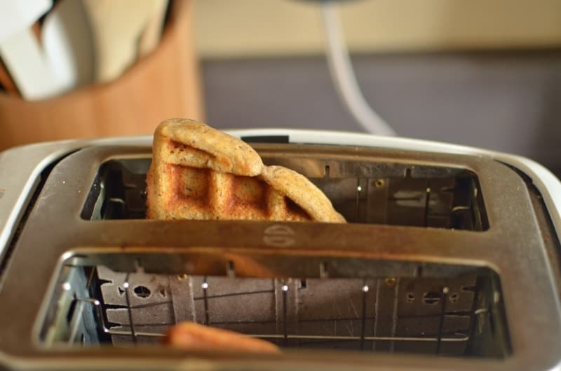 how to cook waffles in a toaster