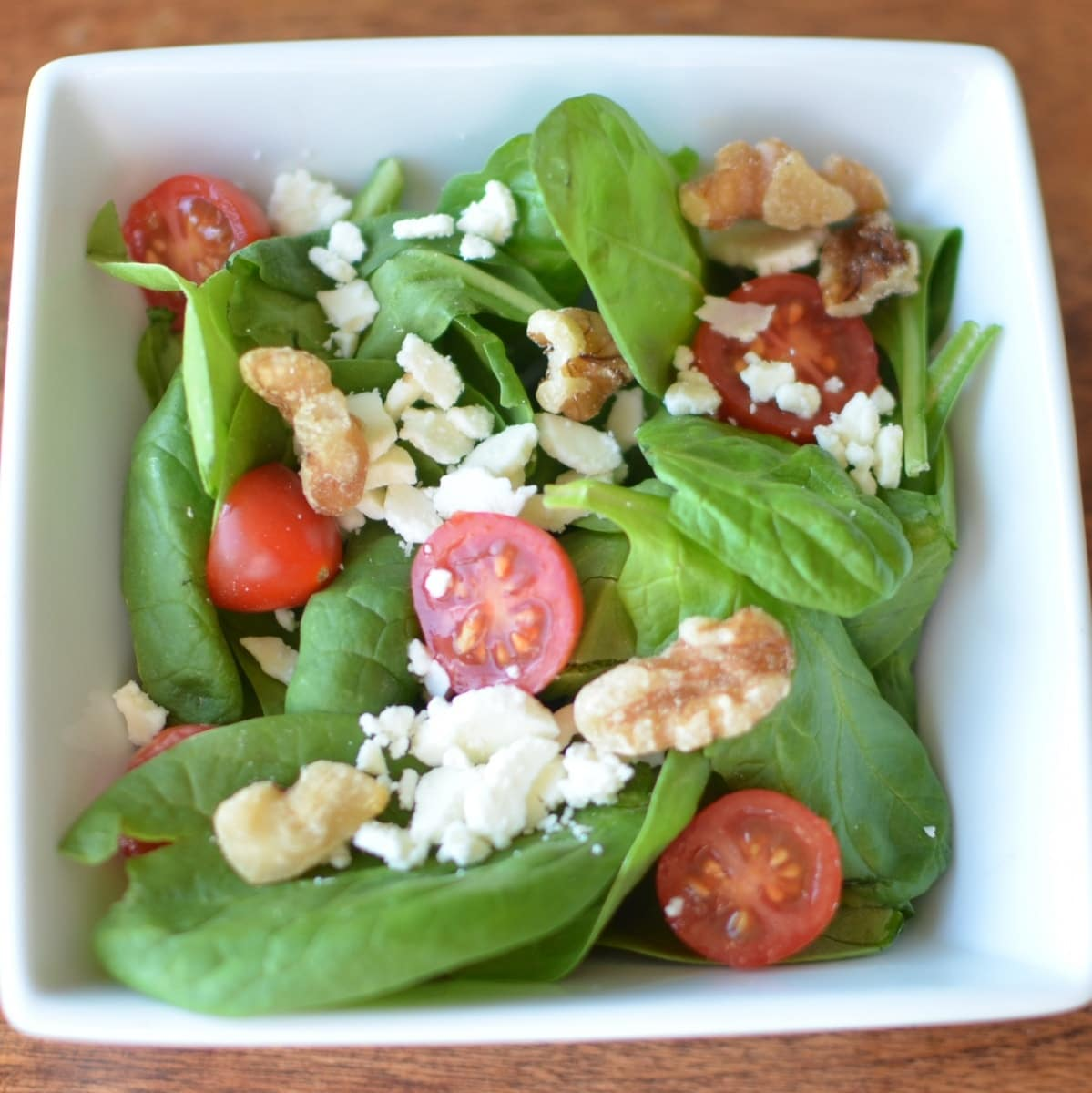 Simple Spinach Salad Super Healthy Kids