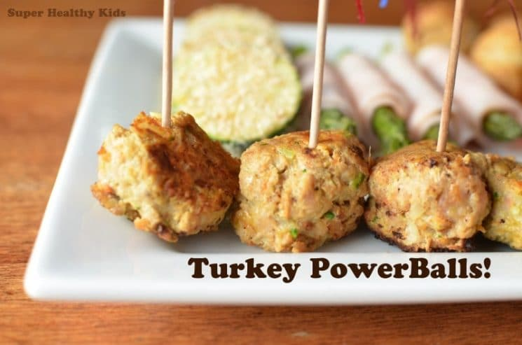Appetizer Sample Platter with Turkey Power Balls! An appetizer guaranteed to please at your upcoming holiday party!