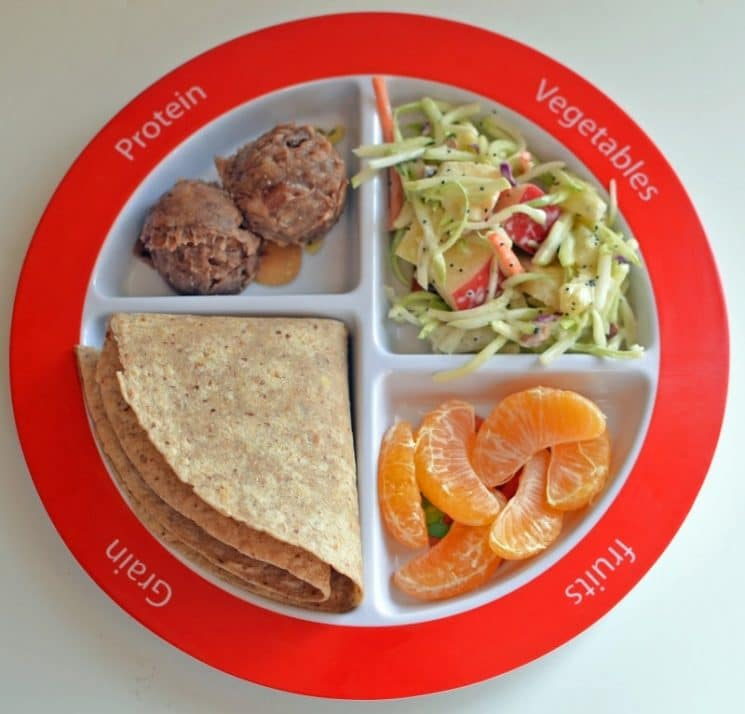 Choose #MyPlate Lunch For Kids