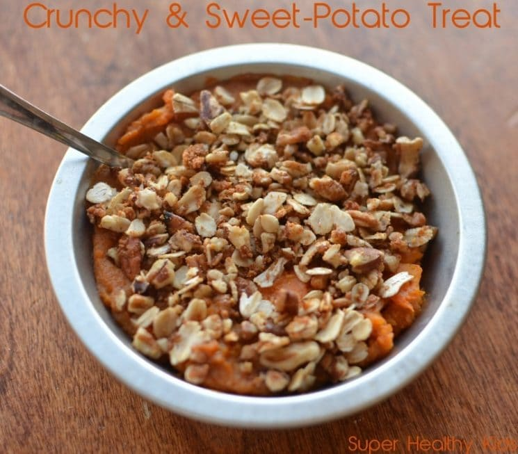 Sweet Potato Casserole With Pecan Crust. A superfood casserole? You don't want to miss out on this!