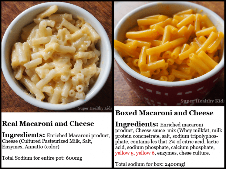 Quick Macaroni And Cheese Super Healthy Kids
