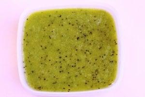A fantastic way to enjoy Kiwi is to make it into a sorbet!