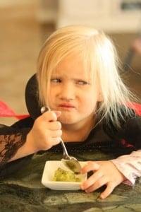Even a mean princess loves kiwi sorbet!