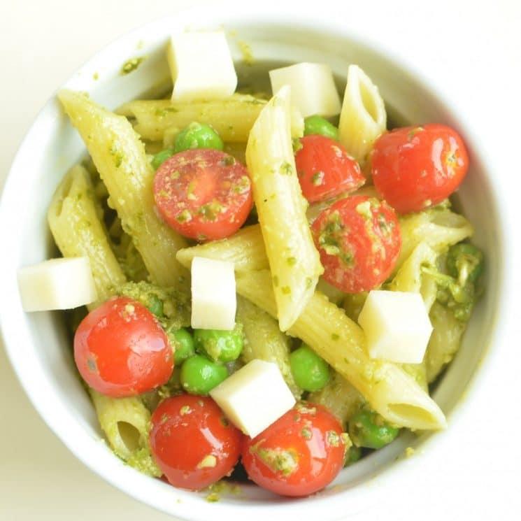 pesto pasta, 30 Quick and Easy Last Minute Dinner Ideas