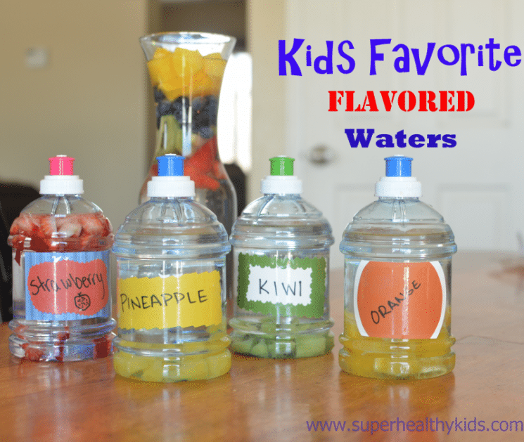 Flavored Water for Kids Plus Essential Benefits of Water! So many parents told us they wanted their kids to drink more water! Check out our ways to make it easy and fun.