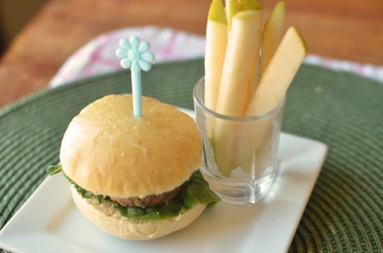 Baby Burgers: Toddler Friendly Finger Food. These bitty burgers aren't just for babies!